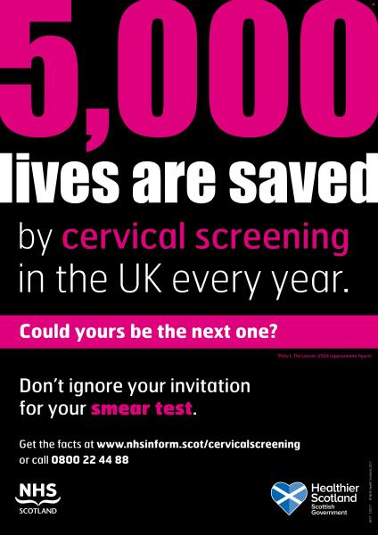 Cervical Screening Poster
