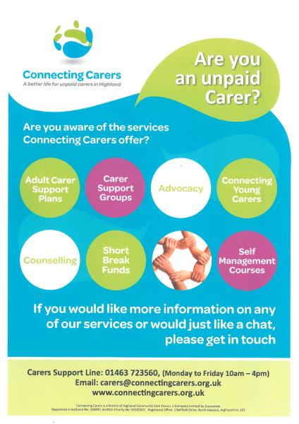 Connecting Carers Poster