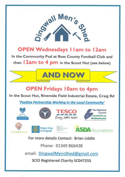 Dingwall Men's Shed