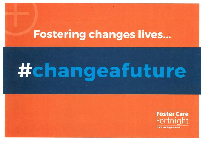 Fostering changes lives Poster