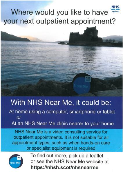 NHS Near Me Poster
